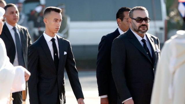 Mohammed VI et princes Moulay El Hassan et Lalla Khadija2