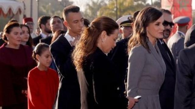 Mohammed VI et princes Moulay El Hassan et Lalla Khadija3