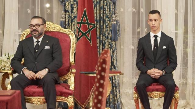 Mohammed VI et princes Moulay El Hassan et Lalla Khadija7