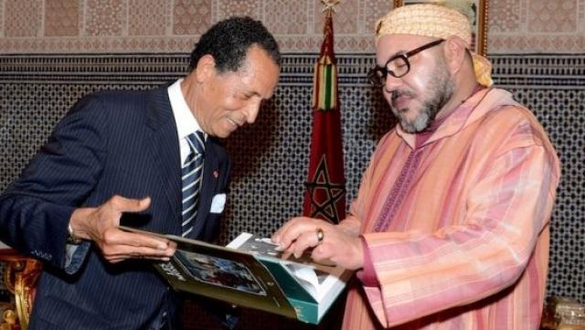 Mohammed VI et Maradji