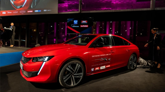 Peugeot 508 au Festival automobile international
