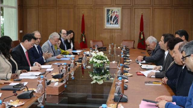 Benchaaboun reçoit les secrétaires généraux du FMI et de la Banque mondiale | www.le360.ma