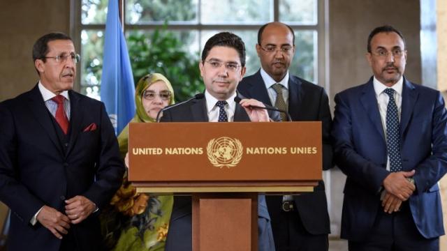 Nacer Bourita à Genève