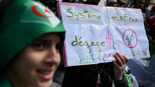 Manifestation à Marseille contre Bouteflika