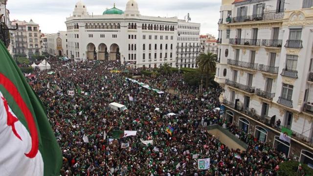 Cinquième vendredi de manifestations en Algérie