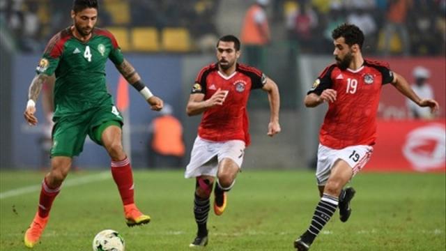 Égypte v Maroc