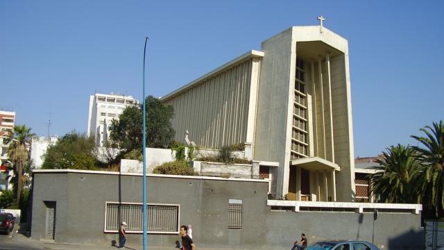 Eglise ND de Lourdes à Casablanca