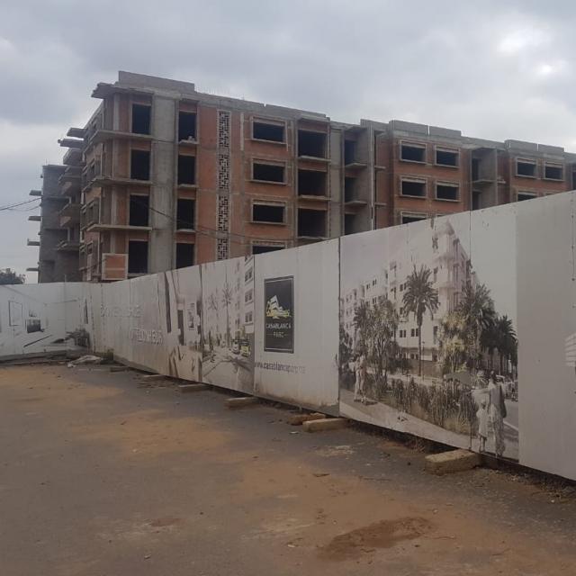 le chantier Casablanca Parc