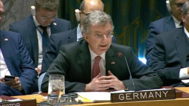 ambassadeur allemand à l'ONU