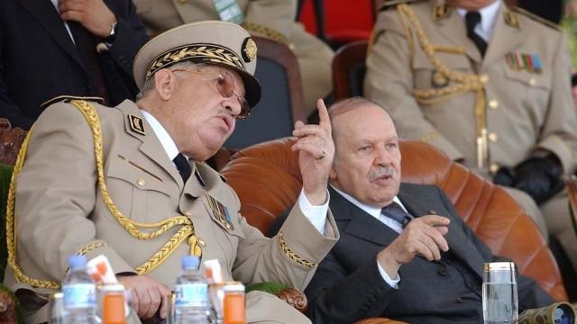 Bouteflika et Gaïd Salah