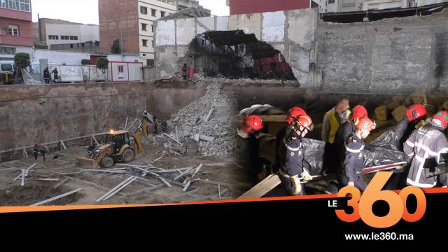 Cover_Vidéo: Le360.ma •تفاصيل مؤلمة حول واقعة انهيار سور بالبيضاء