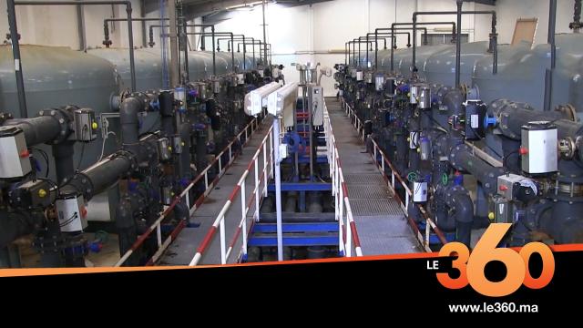 Cover_Vidéo: Le360.ma • Groupe OCP : Phosboucraa dotée d'une nouvelle laverie et une station de dessalement
