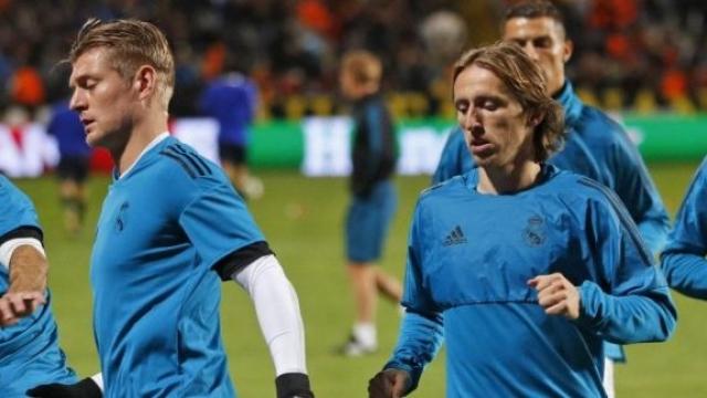 Kroos et Modric