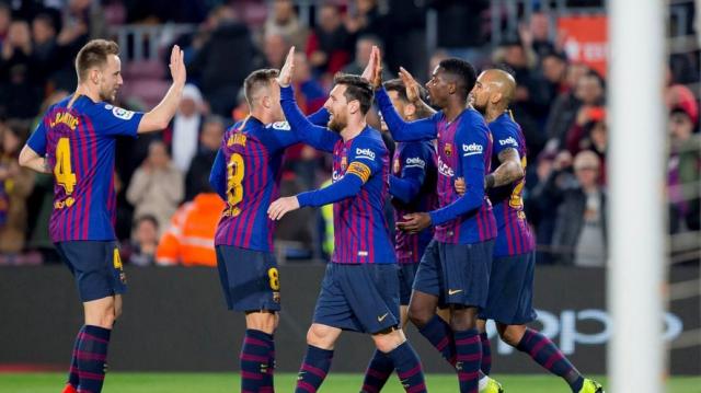 Barcelone winner