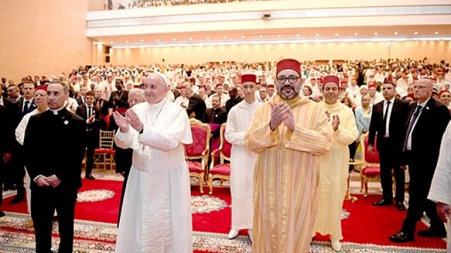 Le roi Mohammed VI et le Pape François-5