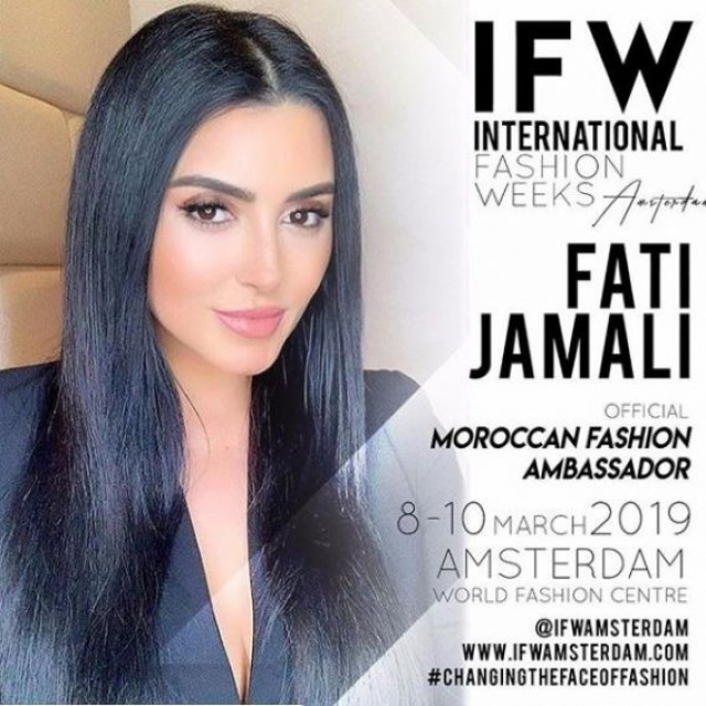 fati jamali moroccan fashion ambassador
