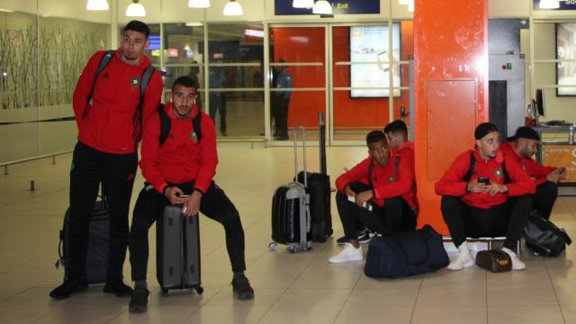 Les U23 en partance pour le Congo