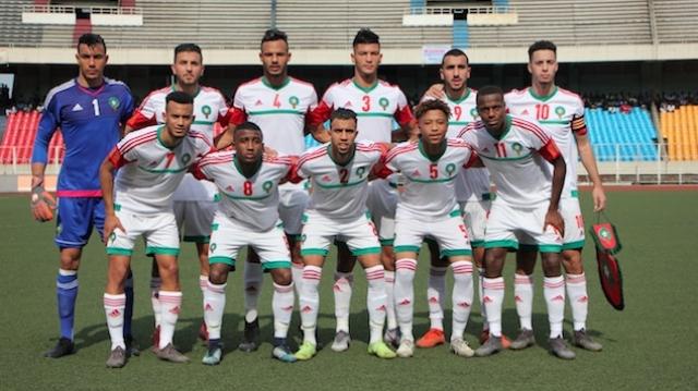 maroc U23 2019
