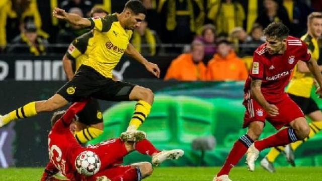 Hakimi Vs Bayern