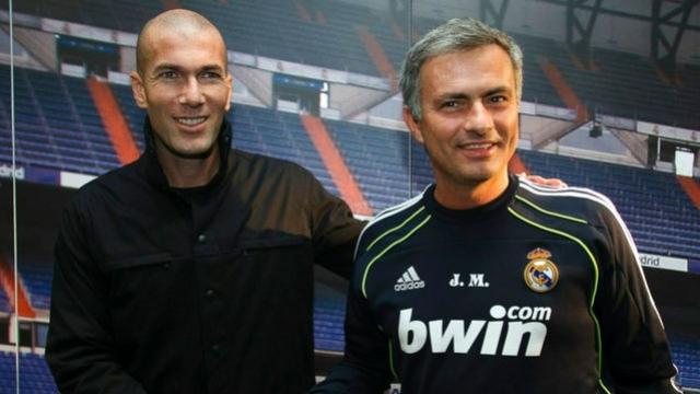 Zidane et Mourinho