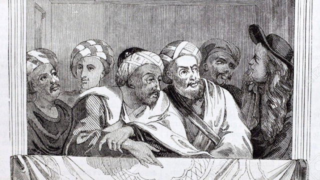 Ben Aïcha et son officier de Versailles