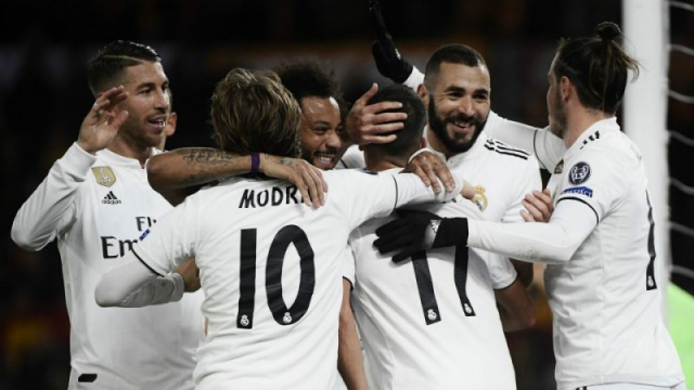Real Madrid équipe