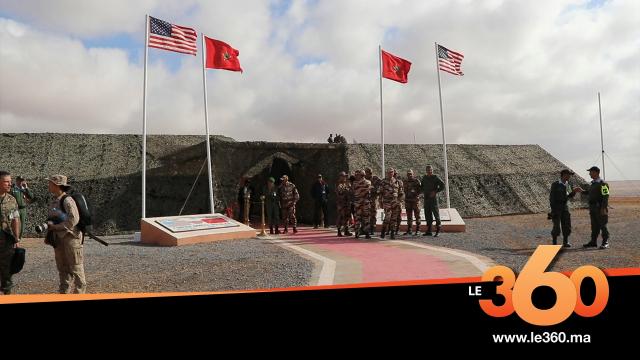 Cover_Vidéo: Le360.ma •الجيشان المغربي والأمريكي يقصفان مكانا للعدو بطانطان