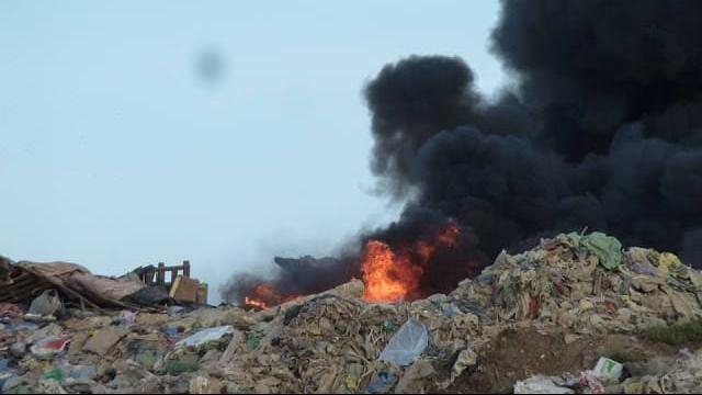Décharge Incinération déchets