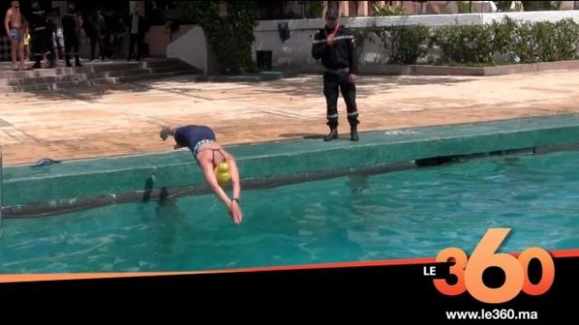 Loubna El Ouazzani, maîtresse nageuse-Cover
