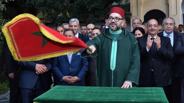 Mohammed VI à Fès en avril 2019