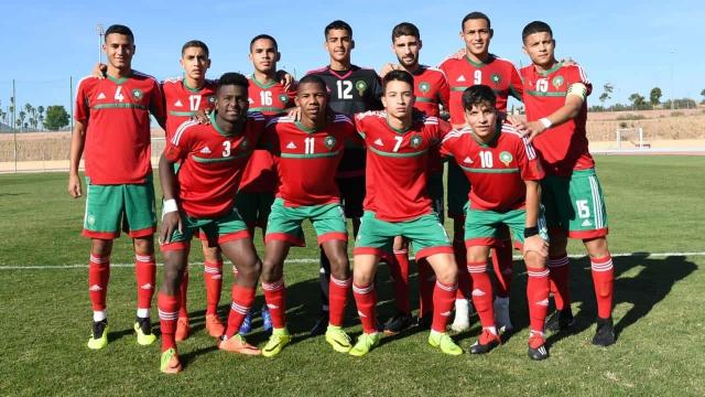 Maroc U17 CAN Tanzanie
