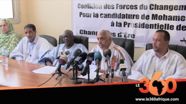 Vidéo. Présidentielle en Mauritanie: formation d'une coalition autour du candidat Ould Maouloud