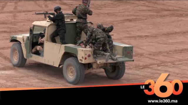 Cover Vidéo - قوات مغربية وأجنبية تقتحم منزل تنظيم إرهابي بالطائرات باشتوكة