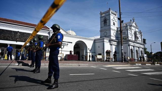 Attentat Sri Lanka