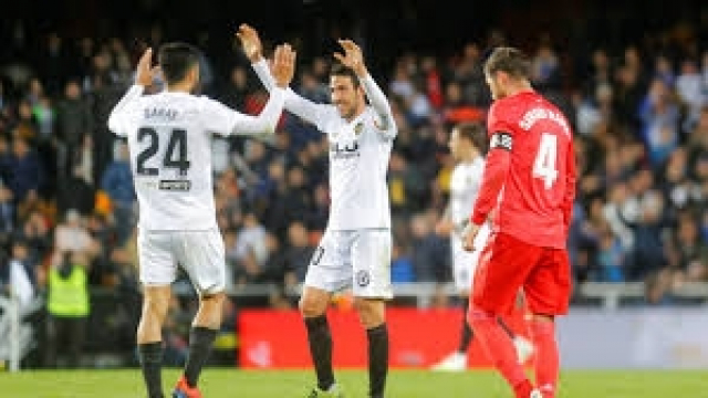 Valence Real madrid Ramos