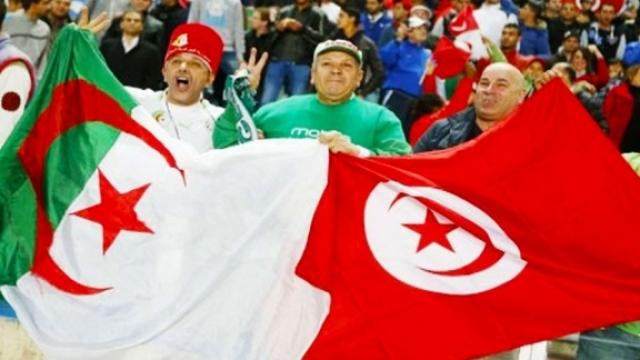 Fans algérien et tunisien