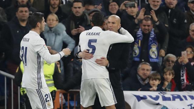 Zidane et Varane