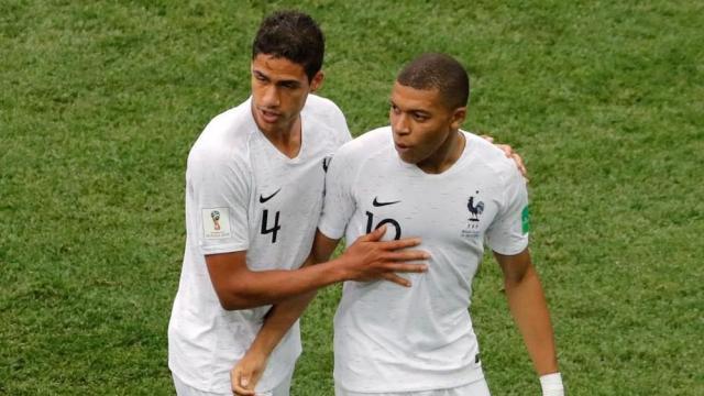 Varane et Mbappé
