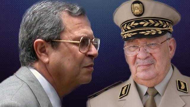 Le général Toufik et Ahmed Gaïd Salah