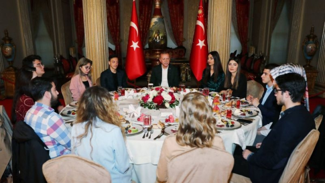 Ozil et erdogan