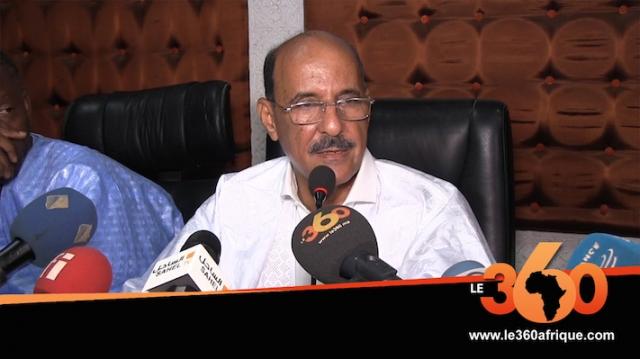 Vidéo. Mauritanie: l'opposant Mahfoudh ould Bettah rejoint le candidat Ghazouani