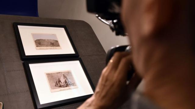 Trois clichés inédits de Rimbaud photographe dévoilés dans sa ville natale