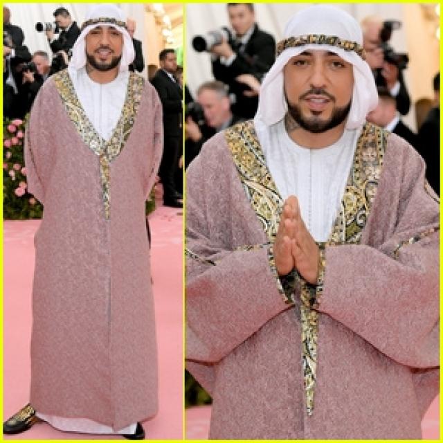 French Montana. Un look pour célébrer le Ramadan au Met Gala