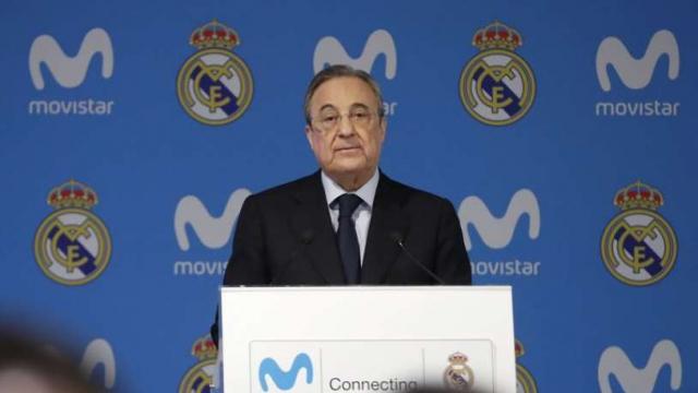 F. Perez, président du Real Madrid