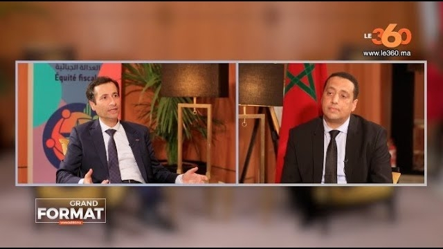 Cover_Vidéo: Le360.ma • Grand Format: Mohamed Benchaaboun
