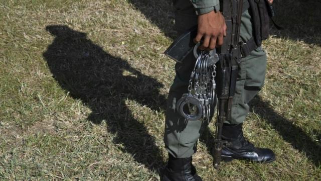 Venezuela-Policier