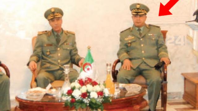 Bouazza Ouassini, nouveau patron de la Direction de la sécurité intérieure (DSI, contre-espionnage).