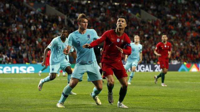 Ronaldo et de Ligt