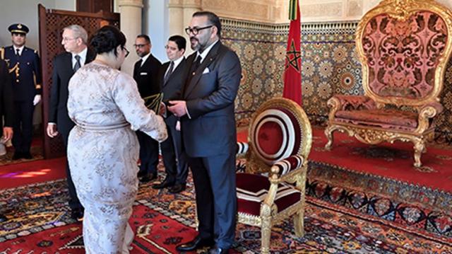 Roi nomme nouveaux ambassadeurs