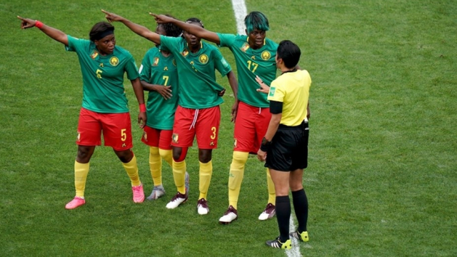 Cameroun foot féminin
